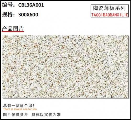 CBL36A001陶瓷薄板